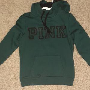Pink green sweatshirt
